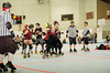 065 (Bawdy Czech) Tags: lcrd lava city roller dolls cinder kittens cherry bomb brawlers skate rollerskate bout bend oregon or february 2018 juniorderby juniors rollerderby lavacityrollerdolls