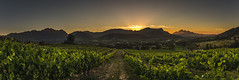 lookout point (hjuengst) Tags: southafrica panorama franschhoek valley sunset wineland mountain westerncape stellenbosch