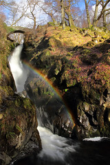 Aira Force One (PJ Swan) Tags: aira force lake district england cumbria rainbow waterfall water great britain nature natural national trust magicmoments