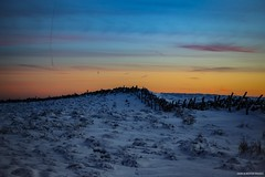 Snow Skies & Stone Dykes (john&mairi) Tags: holehead campsiefells scotland uk snow sunset dusk stone dyke