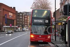 IMG_2111-271217 (andrewcolebourne) Tags: london londonbus transportforlondon towertransit dnh39121 sn12asx route13 dennis enviro400 alexander finchleyroad swisscottage hybrid