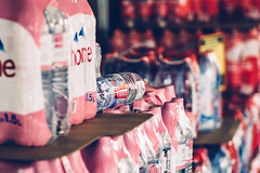 Color Mix (*Capture the Moment*) Tags: 2017 bern berne bottles city flaschen fotowalk kunststoff mog mogprimoplan1975neo meyeroptikgörlitzprimoplan1975neo people plastic plastik schweiz sonya6300 sonyilce6300 stadt street streetlife switzerland vintage