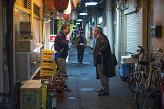 AT THE END OF THE DAY (ajpscs) Tags: ajpscs japan nippon 日本 japanese 東京 tokyo city people ニコン nikon d750 tokyostreetphotography streetphotography street seasonchange winter fuyu ふゆ 冬 2018 shitamachi night nightshot tokyonight nightphotography citylights omise 店 tokyoinsomnia nightview lights hikari 光 dayfadesandnightcomesalive alley othersideoftokyo strangers urbannight attheendoftheday urban walksoflife coldoutsidewarminside izakaya 居酒屋