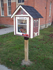 OH LaGrange - Little Free Library (scottamus) Tags: lagrange ohio loraincounty library small books littlefreelibrary