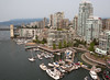 downtown and false creek (n.a.) Tags: granville street bridge vancouver bc canada false creek yachts burrard marina island