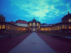 #strolling through the #city #urban #winter #evening #sky #clouds #zwinger #dresden #europe (claudio-g-c) Tags: europe zwinger strolling evening city clouds sky urban dresden winter