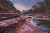 Catching the Light | Slide Rock State Park, AZ (zwainhaus) Tags: reflection morning glow light sedona arizona slide rock state park nikon panorama pano zalman wainhaus snow winter ice sunrise