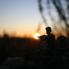 Soldier (David_Rico_Asensio) Tags: soldier sun shooting amanecer morning