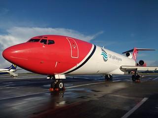 G-OSRB B727 T2 Aviation Ltd