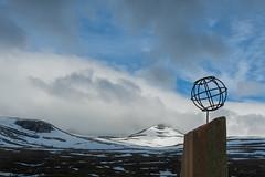colorfull polarcircle (Just me, Aline) Tags: polarcircle articcirclecentre articcircle norway noorwegen poolcirkel monument e6 bergen mountains clouds wolken landscape landschap toerisme tourism
