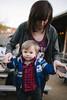 Max & Jewel (BurlapZack) Tags: pentaxk1 pentaxfalimited43mmf19 vscofilm pack01 dentontx eastside portrait bokeh dof candid mother child son kid kiddo toddler bar backyard patio sundayfunday cowboys starterjacket infant boy