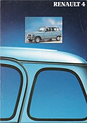 Renault 4 brochure 06-1990 (sjoerd.wijsman) Tags: carbrochure brochure autobrochure prospekt folleto car cars auto voiture fahrzeug brochura opuscolo broschyr vehicle renault 4 renault4 061990 1990