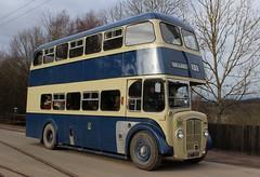 Daimler CV6G/Weymann: 220 KET220 Beamish Open Air Museum (emdjt42) Tags: ket220 220 rotherhamcorporationtransport daimler weymann beamish