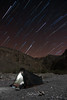 Moonlight with startrails (Enricu) Tags: photopillsnight camping wadi nature silence moonlight oman startrails