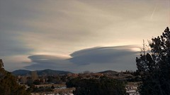 Sangre de Cristo Mountains Lenticular Clouds (northern_nights) Tags: timelapse lenticularclouds santafe newmexico sangredecristomountains sunrise sunset
