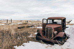 Frozen In Time (Pedalhead'71) Tags: grantcounty washington abandoned truck desert frozen snow rural