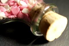 A bottle full of hearts (Carlos Lubina) Tags: macromondays inabottle valentine sweetheart sweet bottle hearts 7dwf ctt