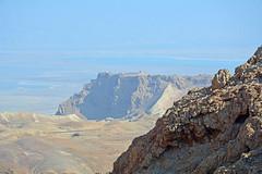 The Road to Masada (JohntheFinn) Tags: masada israel zealot roman archaeology deadsea kuollutmeri middleeast history historia herod palace lähiitä landscape maisema outdoor hiking patikointi aavikko autiomaa erämaa desert wilderness judea
