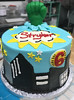 superhero (backhomebakerytx) Tags: cake birthday kid superhero hero hulk fist 6th city scape backhomebakery