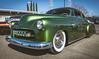 Green Candy (maberto) Tags: autorama calexpo california chevorlet chevy d7200 lowrider lowered nikon automobile ©bradmaberto whitewalls chrome bumper headlights