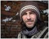 Greg - Stranger 24/100 (AEChown) Tags: 100strangers stranger poncho portrait woollyhat beard hat