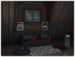 Game Zone (Abi Latzo) Tags: beedesigns theliaisoncollaborative gacha mesh secondlife sl shopping furniture decor indoor inside interiordesign homeandgarden home