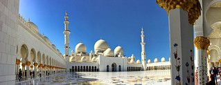 Courtyard and colonade of Sheikh Zayed Grand Mosque (+2)
