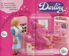 Darling beauty parlour (criscrash13) Tags: darling famosa muñeca doll spain onil salóndebelleza beautyparlour fashiondoll eighties