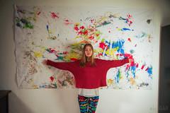 Nastya and her Work (RickB500) Tags: portrait girl rickb rickb500 nastya nastyabook livingbrush fluxus