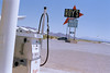 """Gas-Station"" (fotografie_florian_krammel) Tags: gas gasstation tankstelle amerika usa heis sommer sonne canoscan9000 reflecta rps 10"