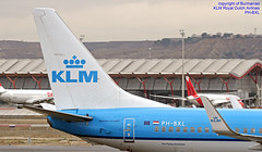 PH-BXL LEMD 10-01-2018 (Burmarrad (Mark) Camenzuli Thank you for the 10.3) Tags: airline klm royal dutch airlines aircraft boeing 7378k2 registration phbxl cn 30359 lemd 10012018