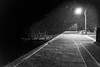 秋穂漁港ー雪 #2ーSnowy Aio fishing port #2 (kurumaebi) Tags: yamaguchi 秋穂 nikon d750 nature 自然 landscape 海 sea 雪 snow night 夜 boat port