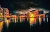 Nostalgia (Gio_ guarda_le_stelle) Tags: venezia venice venise canalgrande carnevale notturno attesa ritorno malinconia atmosfera guardarelestelle italy nightscape