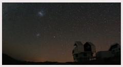 Magellanic Clouds over Magellan Telescopes (Socalastro) Tags: photostream telescope chile magellan magellanic milkyway sky stars astronomy astrophotography astrometrydotnet:id=nova2438428 astrometrydotnet:status=solved