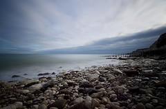 Eastbourne Beach (Sarah Marston) Tags: eastbourne longexposure sony alpha a77 february 2018 clouds seascape