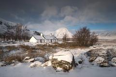 Blackrock Cottage (Sarah_Brooks) Tags: blackrockcottage glencoe rannochmoor highlands scotland winter snow snowy landscape monutains glen