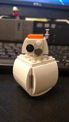BB8 V2 (Cap's Creations) Tags: lego moc star wars force awakens droid bb8