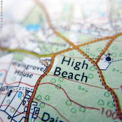 High Beach (peterphotographic) Tags: img7446ed1cb2nciaedwm canon g15 square ©peterhall walthamstow e17 eastlondon london england uk britain highbeach highbeech eppingforest epping map ordnancesurvey macro macromondays lessthananinch closeup depthoffield dof