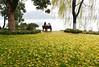 Westlake 西湖 (MelindaChan ^..^) Tags: westlake 西湖 hangzhou china 杭州 people willow tree water lake chanmelmel mel melinda melindachan seat sit chair sudi
