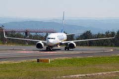 Ryanair Boeing 737-800 EI-EBE (Edu SR) Tags: santiago de compostela scq lest spotting iberia express a321 mcdonnell douglas md80 bulgarian air charter europa boeing 737800 travel service easyjet swizterland airbus a320 american airlines 777200 volotea 717 vueling ryanair a340 contrail lavacolla aeropuerto