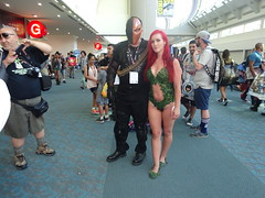 Deathstroke and Poison Ivy (Sconderson Cosplay) Tags: comic con san diego sdcc 2016 cosplay deathstroke poison ivy