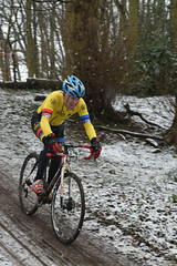 DSC_0171 (sdwilliams) Tags: cycling cyclocross cx misterton lutterworth leicestershire snow