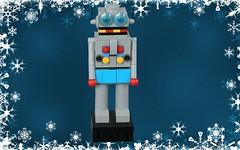Robot Nutcracker (jsnyder002) Tags: lego nutcracker moc creation display build hands head clockwork