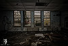 IMG_4921 (Star Wolf Photography) Tags: windows graffiti school abandoned urbex urbexing