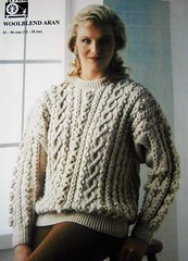 Timeless classic aran fisherman knitwear (Mytwist) Tags: 19811975 vintage knitting pattern tivoli 2023 ladys aran sweater to knit aransweatertoknit sweatertoknit sweatergirl outfit knitwear style modern love passion wife cabled handgestrickt