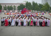 North Korean students before a mass dance performance on september 9 day of the foundation of the republic, Pyongan Province, Pyongyang, North Korea (Eric Lafforgue) Tags: 2024years adultsonly asia asian capitalcities celebration chosonot colorful communism dance dancers dancing day dictatorship discipline dprk groupofpeople hanbok happiness horizontal joseonoth koreanculture largegroupofpeople leisureactivity lifestyles massball massdance multicolored nk116490 northkorea northkorean outdoors patriotism pyongyang ranking students traditionalclothing urbanscene women pyonganprovince 北朝鮮 북한 朝鮮民主主義人民共和国 조선 coreadelnorte coréedunord coréiadonorte coreiadonorte 조선민주주의인민공화국 เกาหลีเหนือ קוריאההצפונית koreapółnocna koreautara kuzeykore nordkorea північнакорея севернакореја севернакорея severníkorea βόρειακορέα
