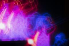 Wrestler and Videographer (davidhangell) Tags: slow slowshutter color saturated nikond5300 nikon d5300 dslr glow luminous bright contrast tv motion blur night nikkor kitlens lens longexposure bulb