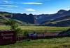 Palisade, Nevada (rolfstumpf) Tags: usa nevada palisade unionpacific southernpacific freightcar boxcar landscape canyon mountains spring farm ranch shadows green humboldtriver