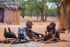 Namibia Himba village (Sas & Rikske) Tags: eric bruyninckx himbachild himbachildren kids kido child children namibië kinderen enfant west africa afrika portret portrait