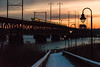 18-126 (George Hamlin) Tags: maryland susquehanna river bridge perryville railroad passenger train amtrak silver star atk 92 electric siemens acs64 sprinter locomotive lamp post dock overhead catenary sunset colorful sky photo decor george hamlin photography